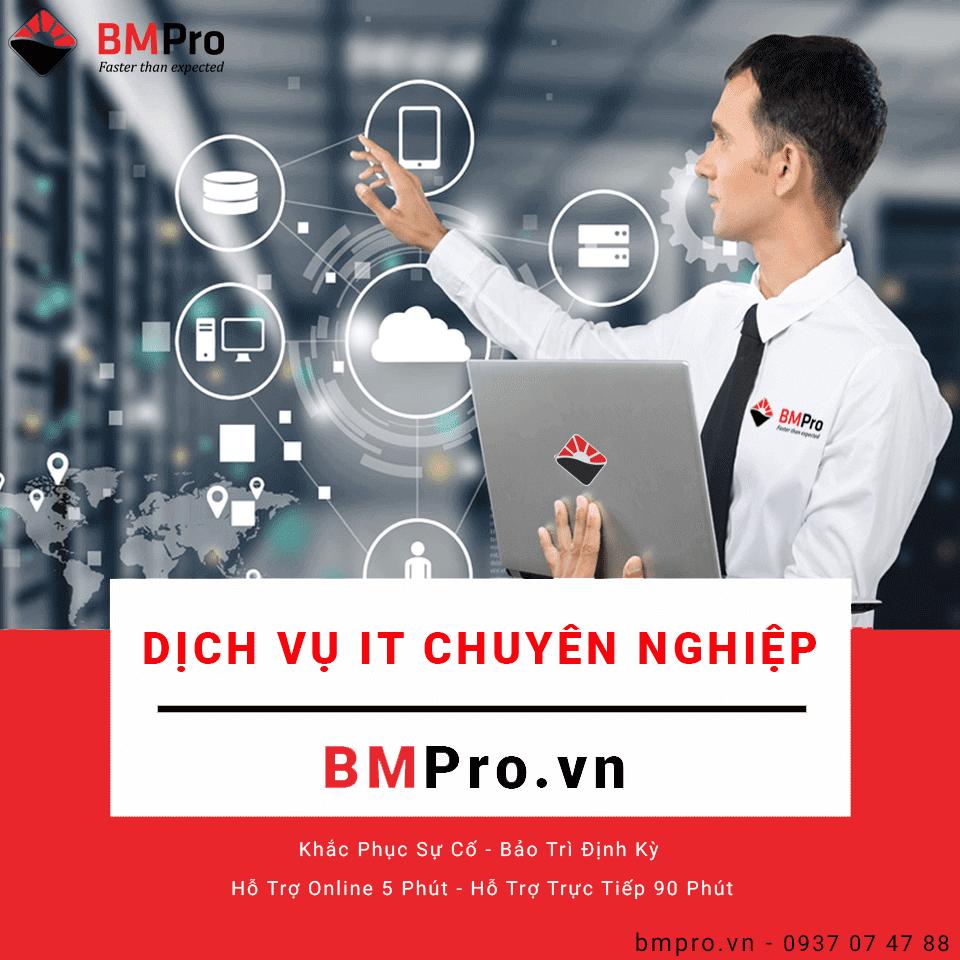 Bảo trì hệ thống máy tính - BMPro