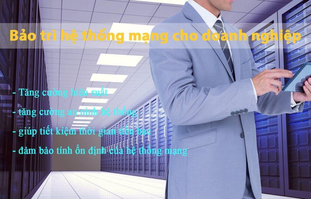 Dịch vụ bảo trì hệ thống mạng máy tính - BMPro