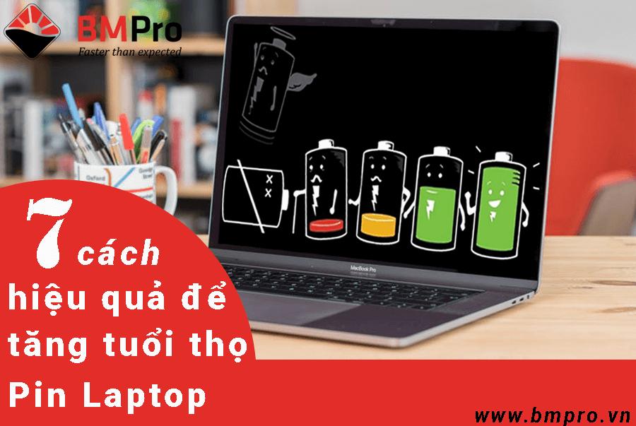 7 cách giúp pin laptop tăng tuổi thọ - bmpro