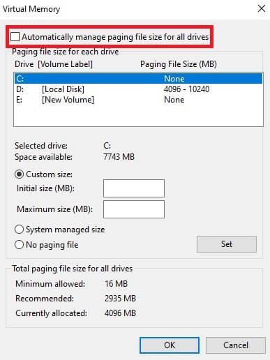 Cách xử lí lỗi fulldisk trên máy tính