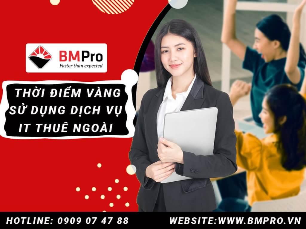 Dịch vụ it thuê ngoài chuyên nghiệp củaBMPro