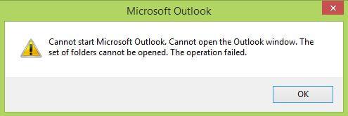 Lỗi mail outlook không đăng nhập
