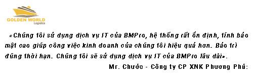 Dịch vụ It Support Chuyên nghiệp - BMPro