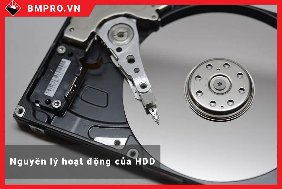 Nguyên lý hoạt động của HDD