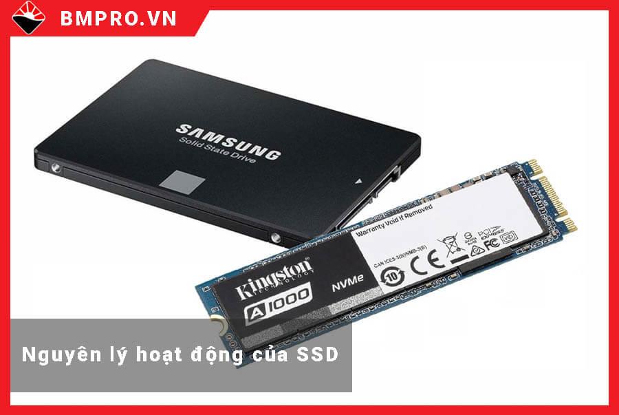 Nguyên lý hoạt động của SSD