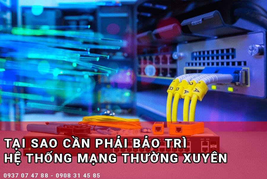 Tại cao cần bảo trì hệ thống mạng - BMPro.vn
