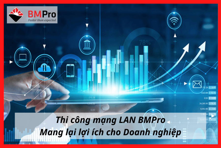 Thi công mạng LAN BMPro