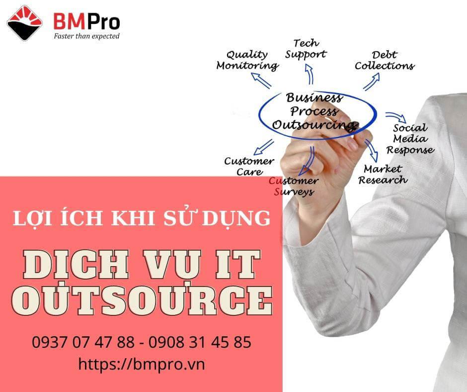 Lợi ích của dịch vụ it outsource là gì?