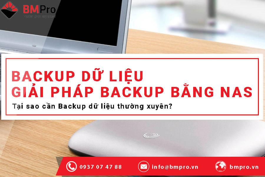 Backup dữ liệu là gì? - BMPro.vn