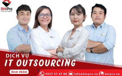 Dịch vụ IT Outsourcing cho doanh nghiệp - BMPro