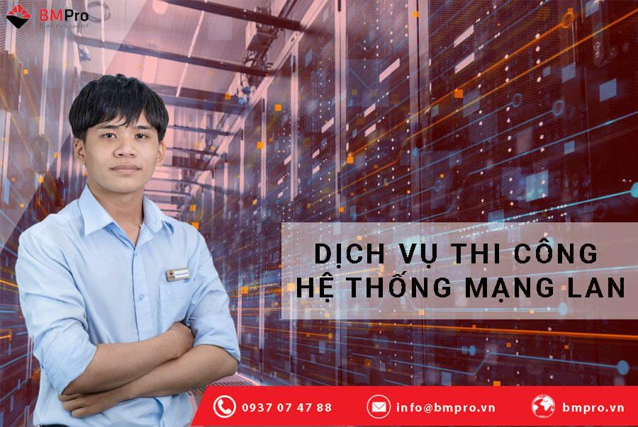 Dịch vụ thi công mạng LAN cho doanh nghiệp