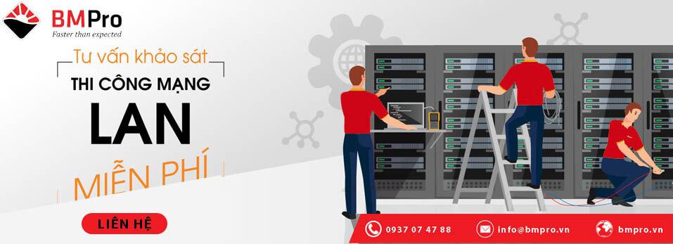 Thi công mạng LAN cho doanh nghiệp tại TP.HCM