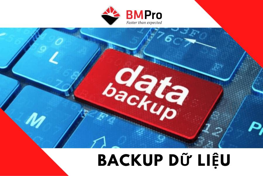 back up dữ liệu máy tính