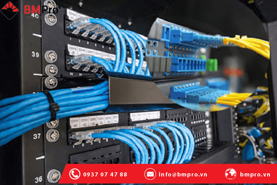Thi công hệ thống mạng nội bộ cho doanh nghiệp - BMPro.vn