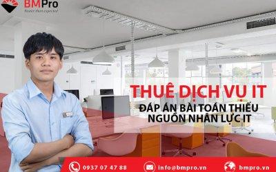 Thuê dịch vụ it chuyên nghiệp tại TP.HCM