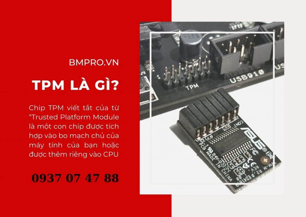 """Chip TPM viết tắt của từ """"Trusted Platform Module"""
