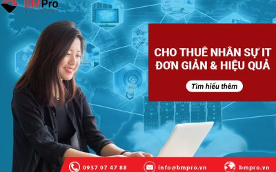 Thuê nguồn nhân lực IT là giải pháp mang đến nhiều lợi ích về kinh tế, kỹ thuật cho doanh nghiệp
