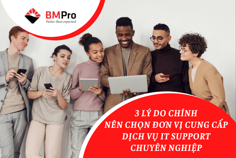 cung cấp dịch vụ IT Support