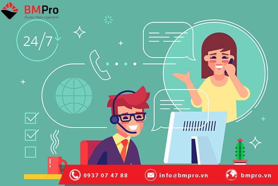 Liên hệ hỗ trợ IT dịch vụ chuyên nghiệp