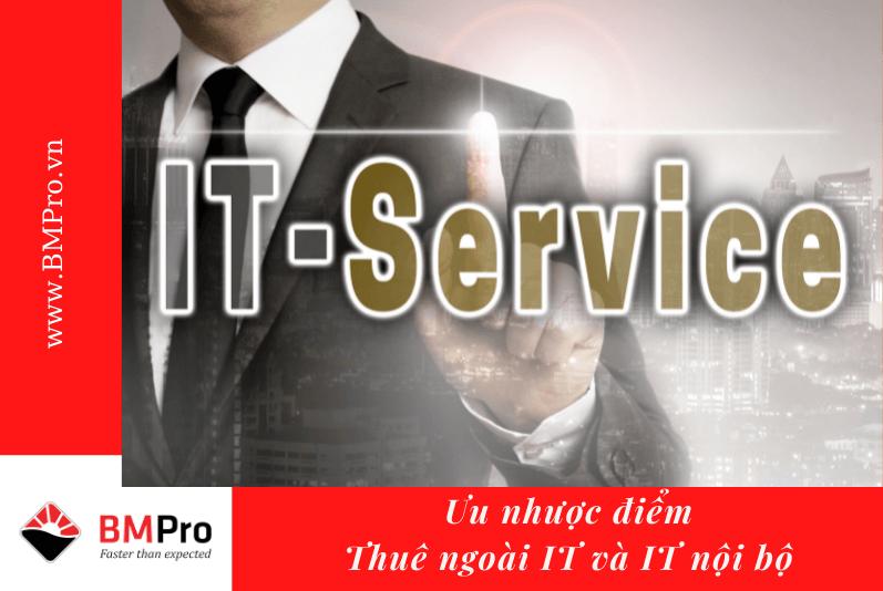 thuê ngoài IT và IT nội bộ