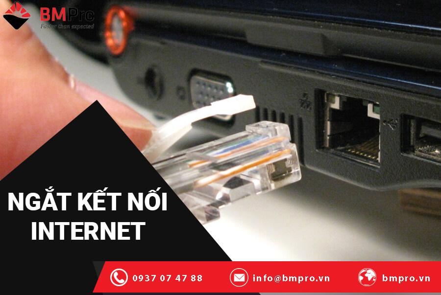 bạn nên đảm bảo rằng bạn chưa kết nối với Internet trước khi tiếp tục đăng nhập.