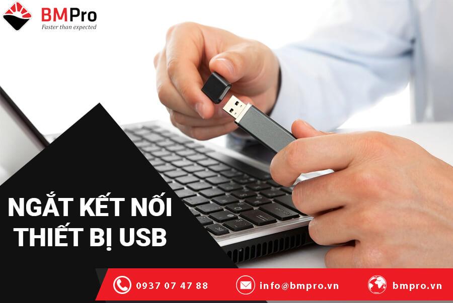 Khắc phục lối windows bị treo bằng cách ngắt kết nối thiết bị USB của bạn
