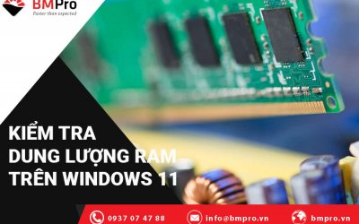 Cách Kiểm Tra Dung Lượng RAM, Tốc Độ Và Loại RAM Trên Windows 11