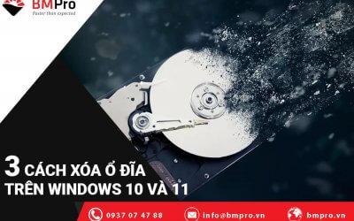 Cách Xóa Ổ Đĩa Trên Windows 10 và Windows 11